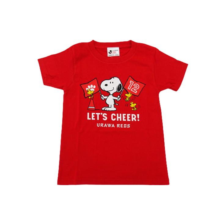 スヌーピー Tシャツ (チア柄)