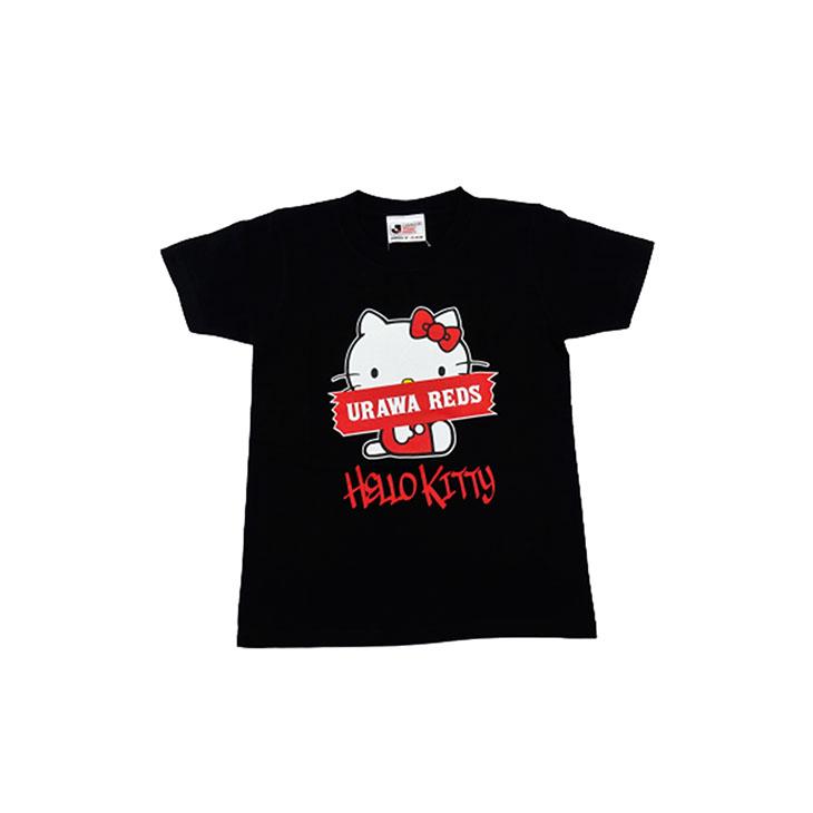 20HELLO KITTY Tシャツ/黒/キッズ