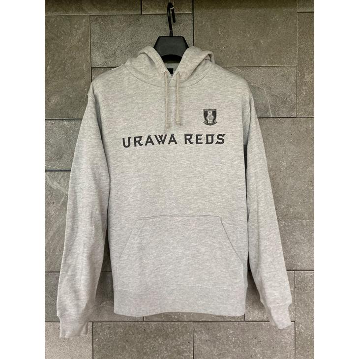 ネーム&ナンバー対応プルオーバーパーカー(URAWA REDS)グレー