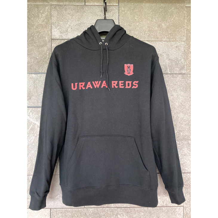 ネーム&ナンバー対応プルオーバーパーカー(URAWA REDS)黒