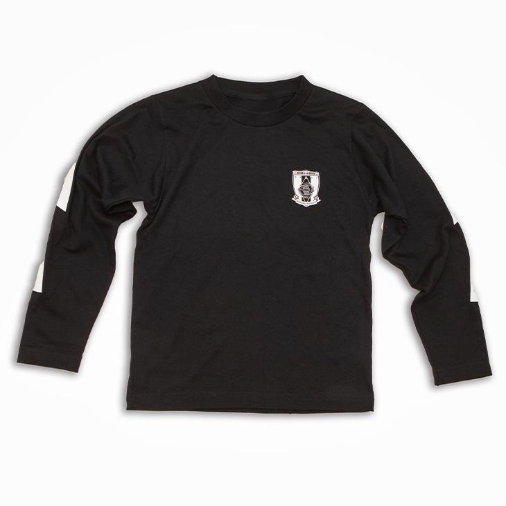 ロングスリーブTシャツ (エンブレム)/黒