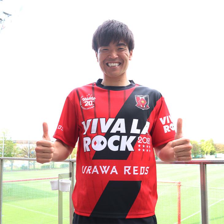 REDS ROCK!2021サッカーシャツ