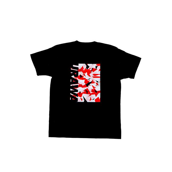 Tシャツ(URAWA GEOMETRIC)黒