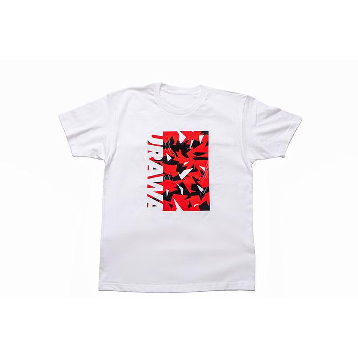 Tシャツ(URAWA GEOMETRIC)白