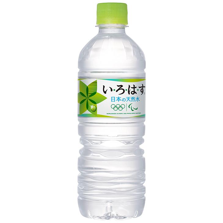 い・ろ・は・す 天然水 PET 555ml×24本